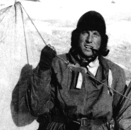 Profile image of Sandy Irvine in Spitsbergen