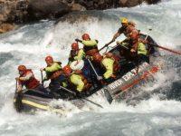 John Blashford-Snell Rafting